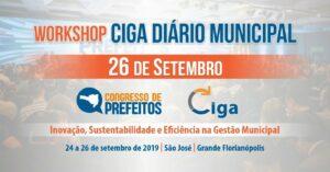 WORKSHOP CIGA DIÁRIO MUNICIPAL